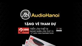 [AV Show 2018 – Hà Nội] Không gian âm thanh độc đáo của Audio Hà Nội tại AV Show 2018 lần thứ 15