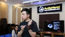 Offline tháng 8-Trải nghiệm AudioQuest cùng đại diện thương hiệu của hãng