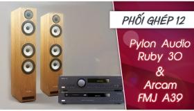 Thiết lập hệ thống stereo chất lượng từ loa Pylon Ruby 30 và Ampli Arcam FMJ A39 | Phối ghép 12