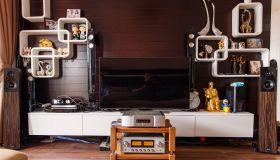 Công trình hoàn thành loa Audio Physic, Audia Flight và Luxman tại nhà anh Phong - Linh Đàm