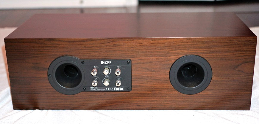 mat sau loa center KEF R600c