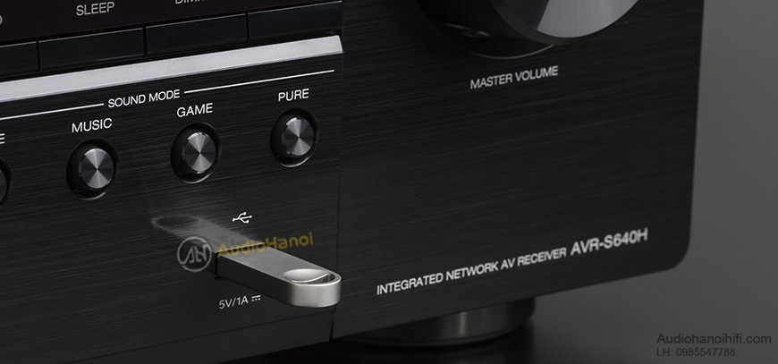 Ampli Denon AVR-S640H can canh