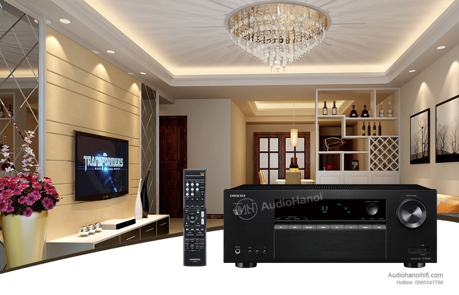 Amply Onkyo TX-SR252 chat luong