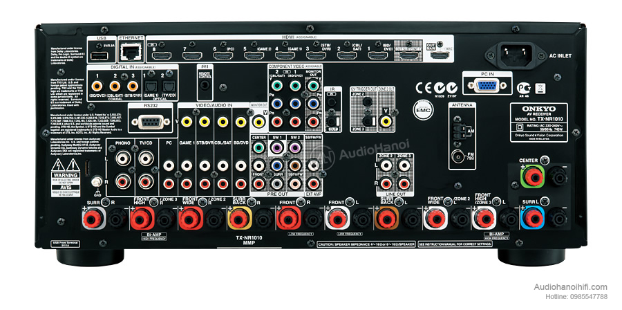 Amply Onkyo TX-NR1010 chat luong