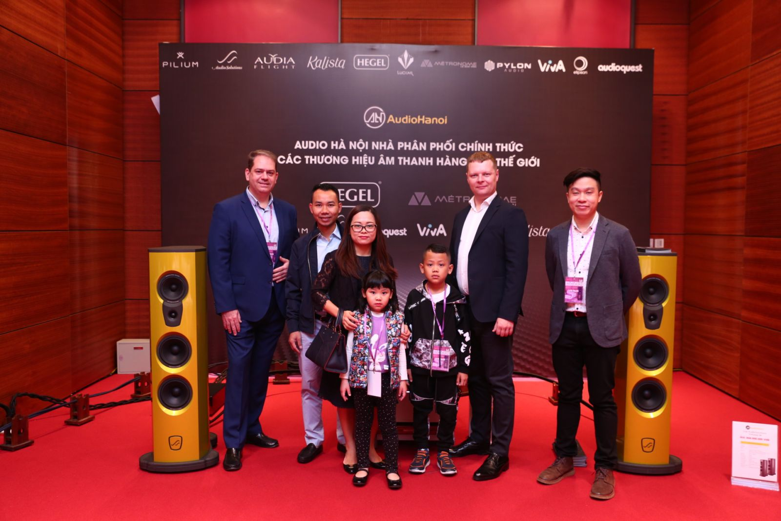 Bo dan am thanh AudioSolutions