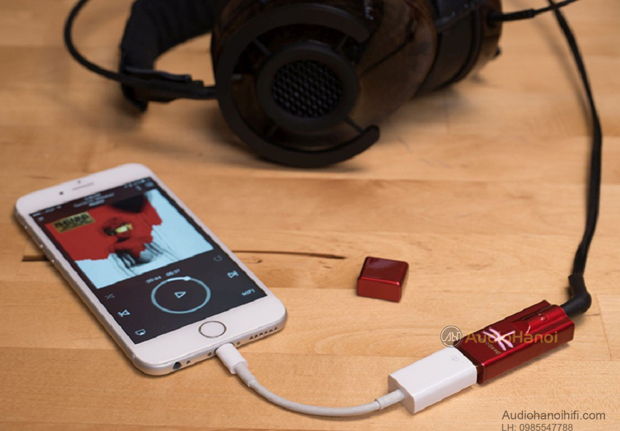 bo giai ma USB AudioQuest DragonFly Red chat