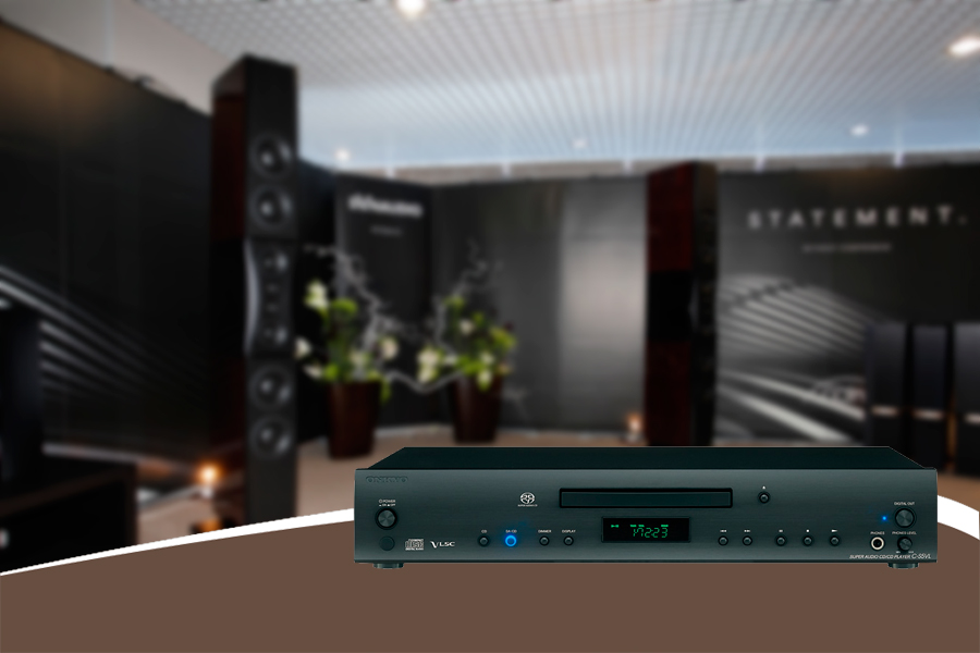 dau CD Onkyo C-S5VL black