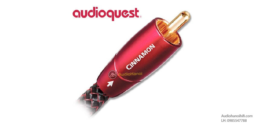 Day tin hieu Coaxial AudioQuest Cinnamon