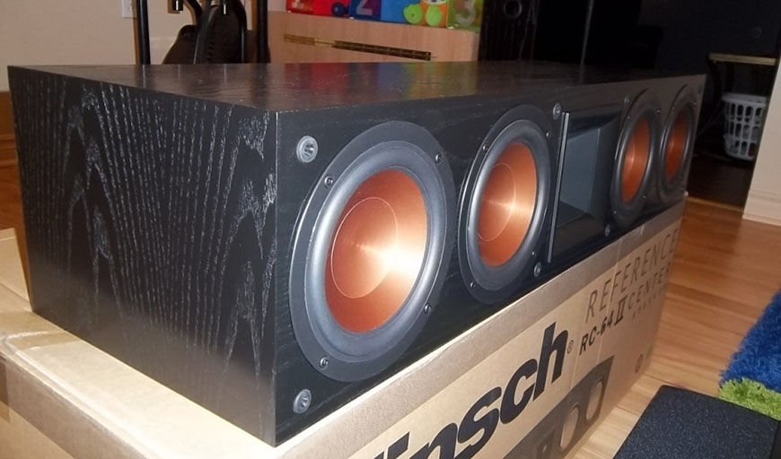 mat ben loa center Klipsch RC 64 II