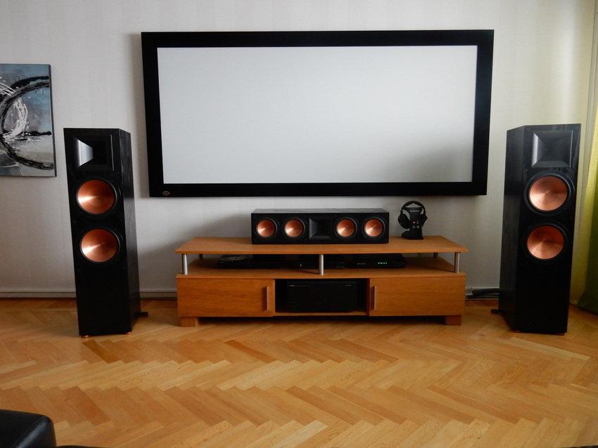 nh gi v loa center klipsch rc 64ii m thanh ch nh h ng. Black Bedroom Furniture Sets. Home Design Ideas