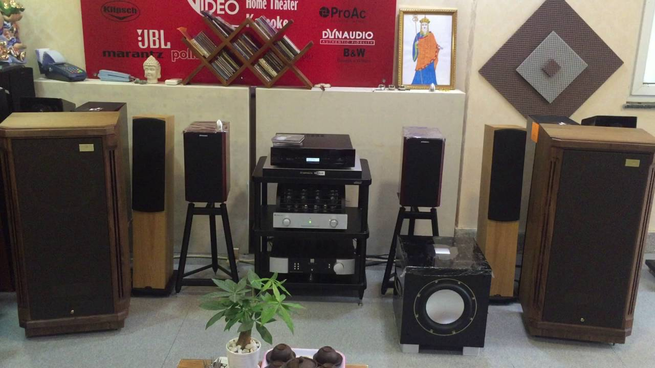 loa Tannoy TurnBerry GR sang trong