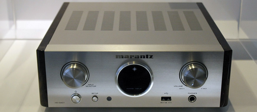 Bo giai ma Marantz HD-DAC1 mau trang bac