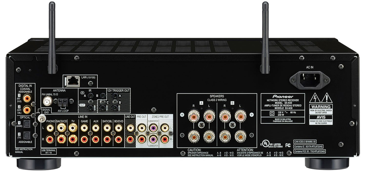 Pioneer SX-N30 Network chat luong