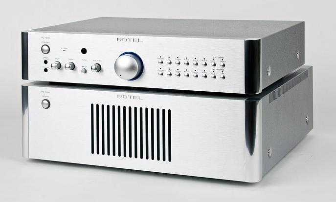 Power amply Rotel Rotel RB-1552MKII siver