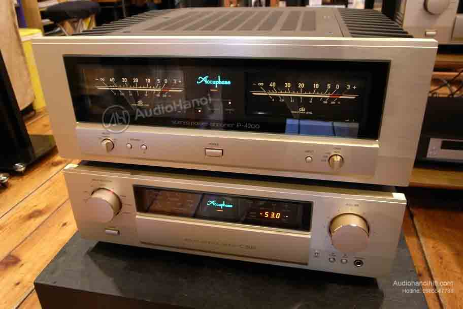 Power Ampli Accuphase P-4200 phoi ghep
