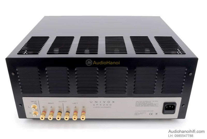 power ampli Audio Hungary APX 200 tot
