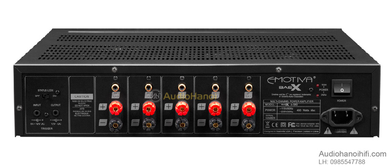 power ampli Emotiva BasX A 500 dep
