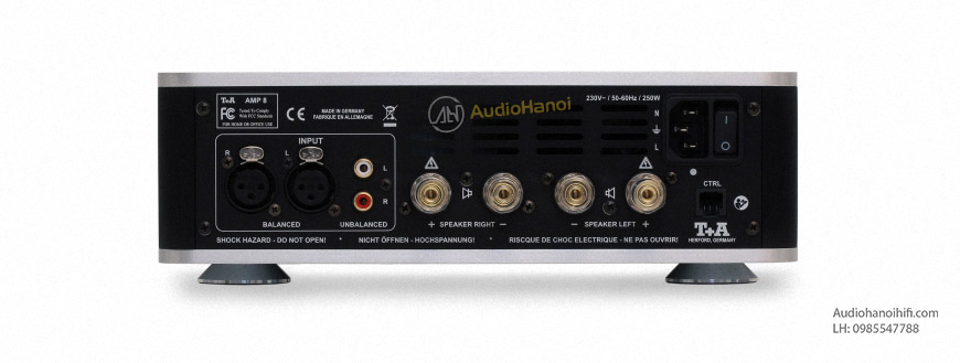 Power ampli T+A AMP 8 tot