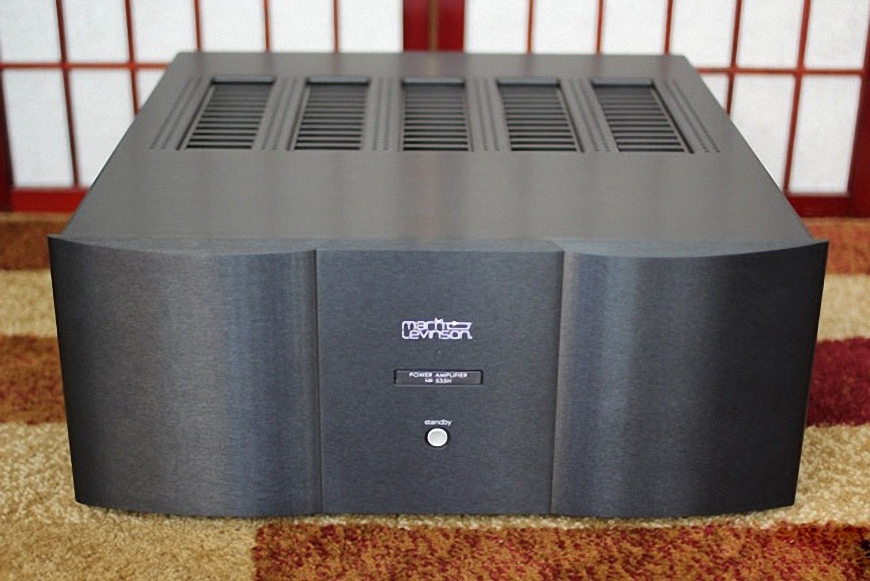 Power amplifier Mark Levinson Nº535H cho hieu suat am thanh rat lon
