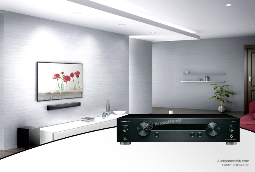 Pre amply Onkyo P-3000R chat luong