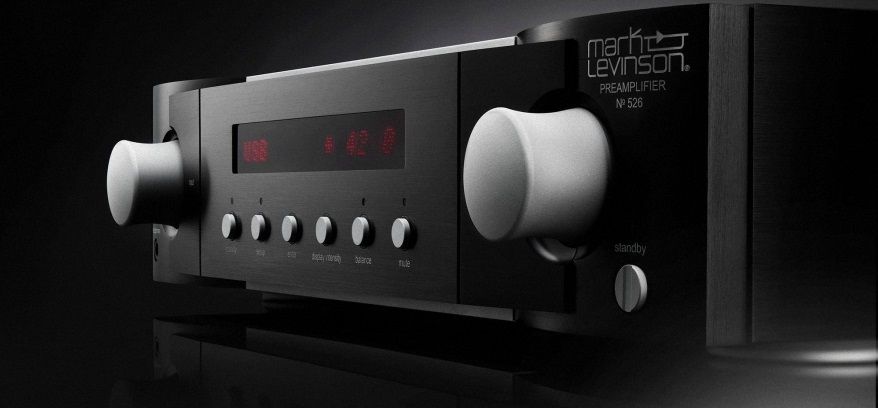 can canh be mat Pre-amplifier Mark Levinson No.526