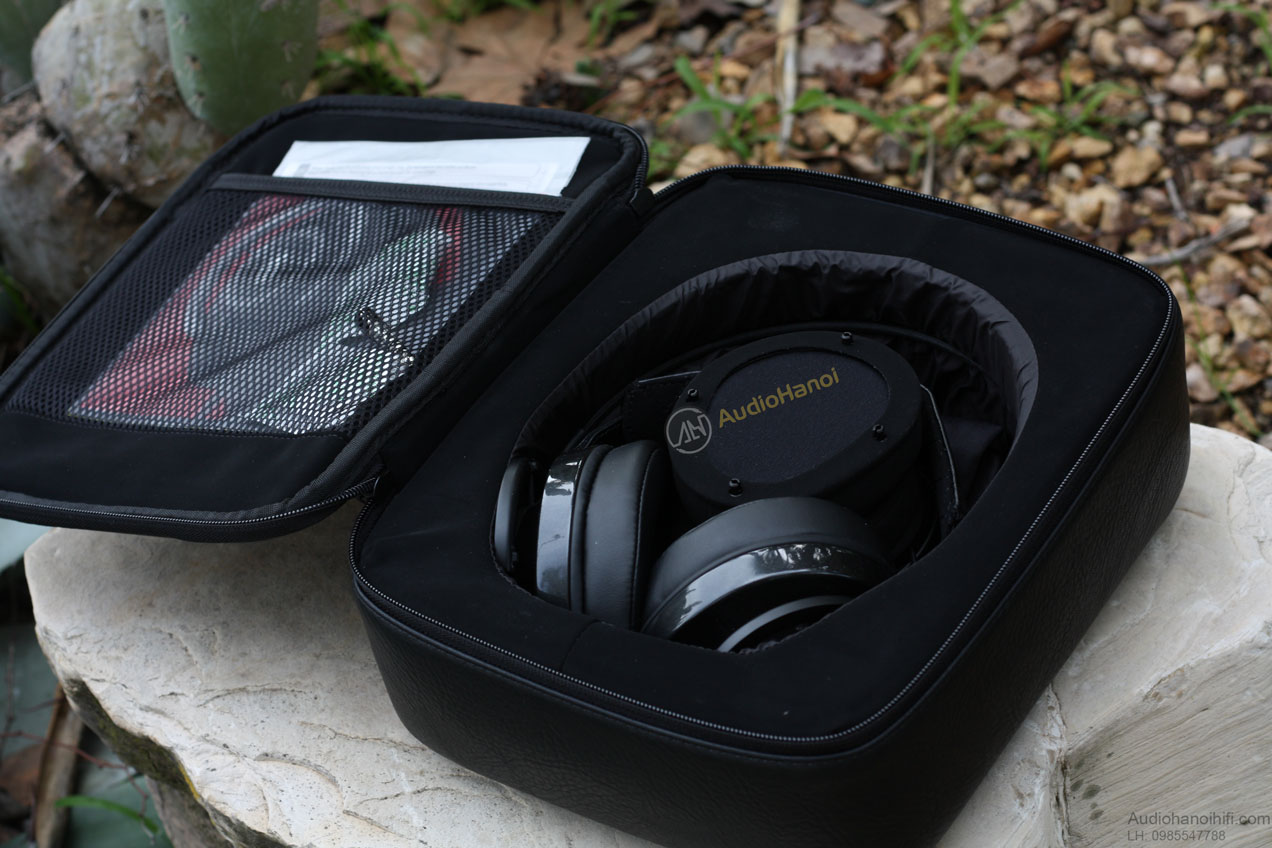 Tai nghe AudioQuest NightOwl Carbons black