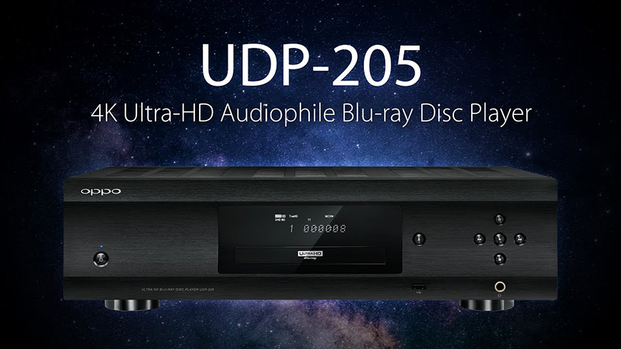 dau Blu-ray Oppo UDP-205