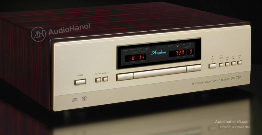 dau CD Accuphase DP-720 chat luong