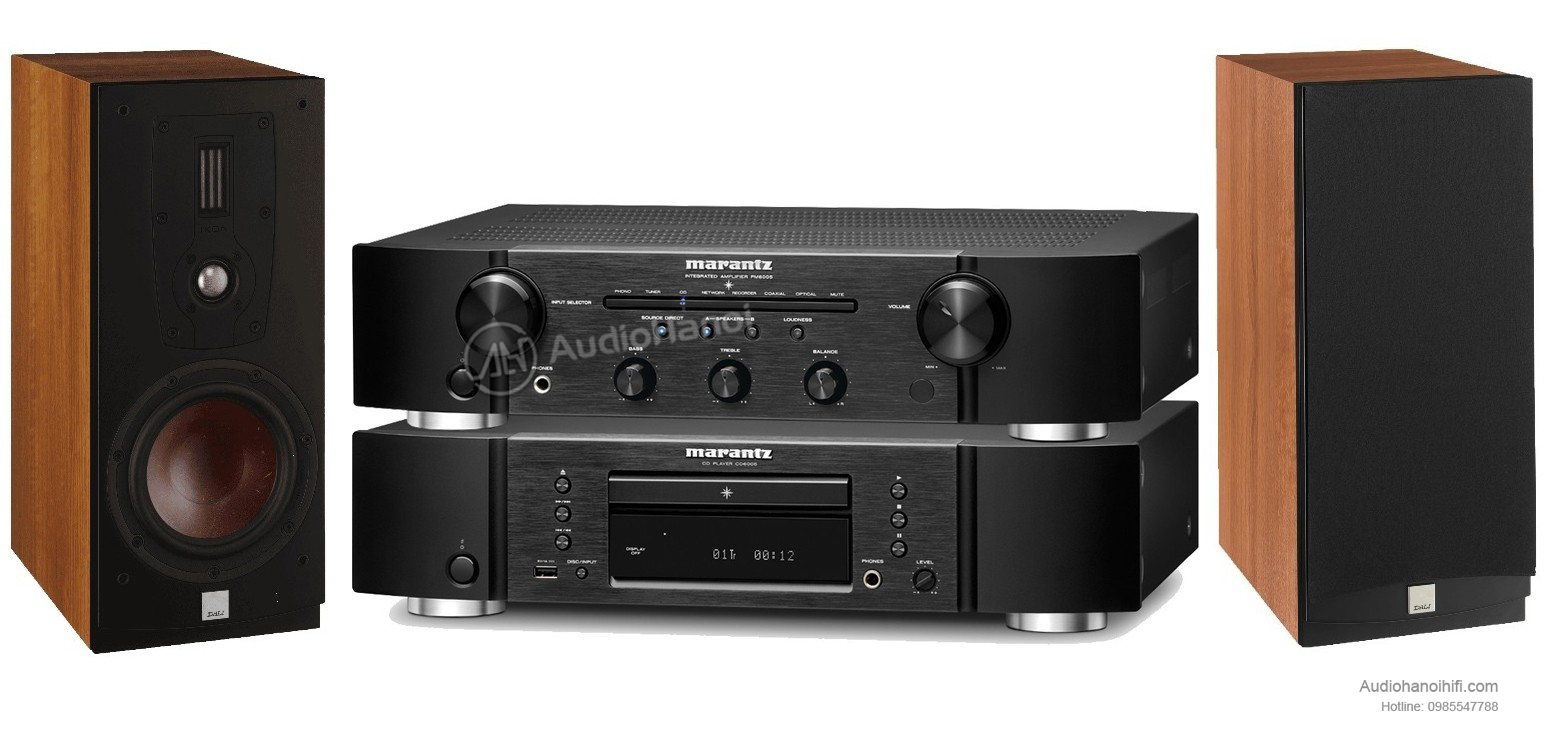 dau CD Marantz CD6005 trong bo dan mini
