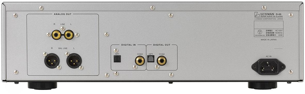 Bán đầu SACD/ CD Luxman D-05 giá tốt, chất luợng cao, nhập khẩu Nhật