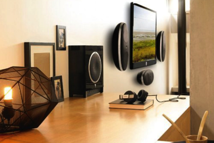 loa Focal Sub Air thiet ke bat mat