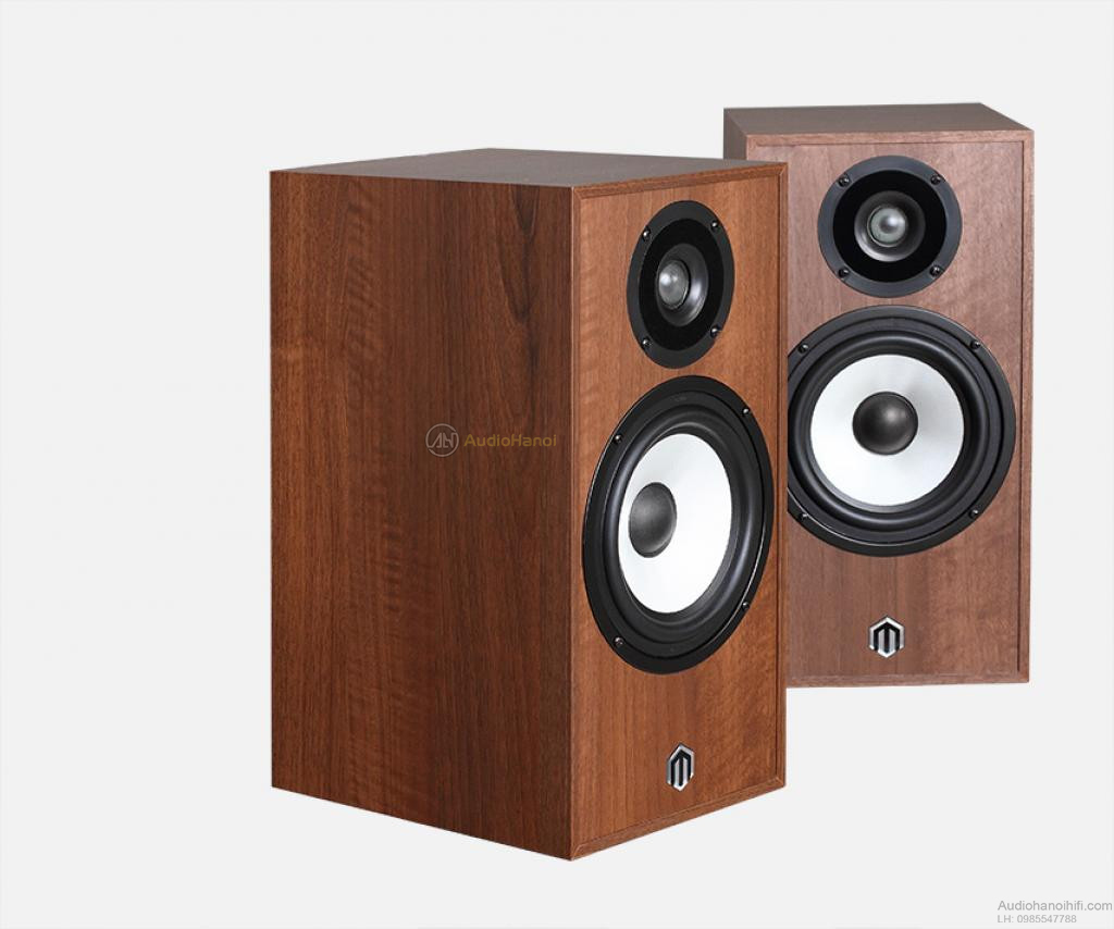 loa pylon audio pearl monitor walnut