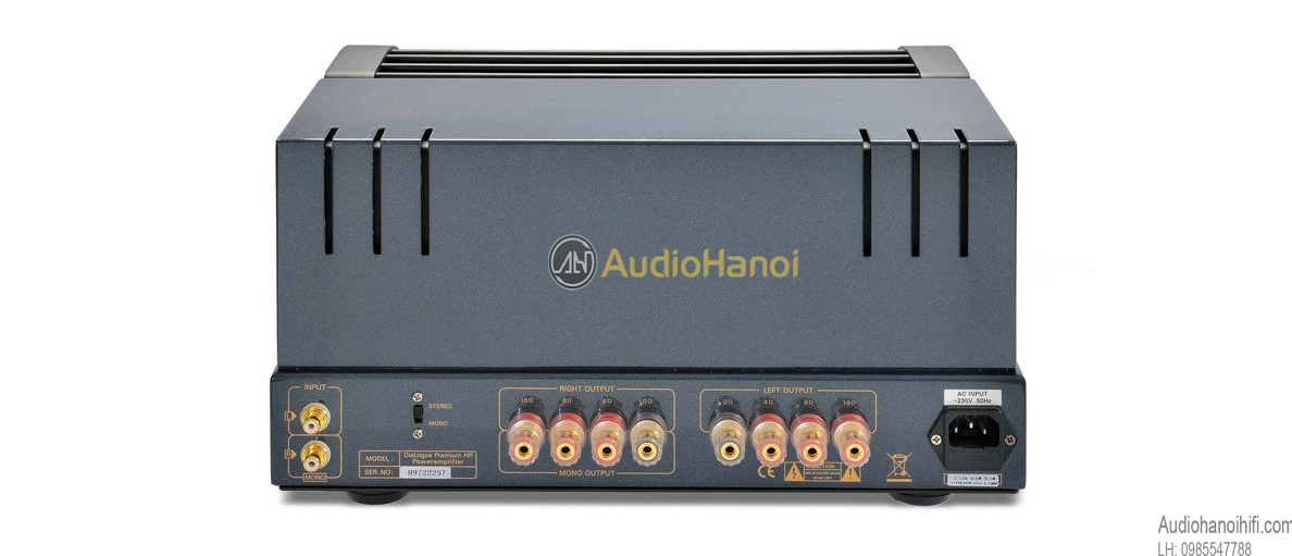 Power ampli Dialogue Premium HP mat sau