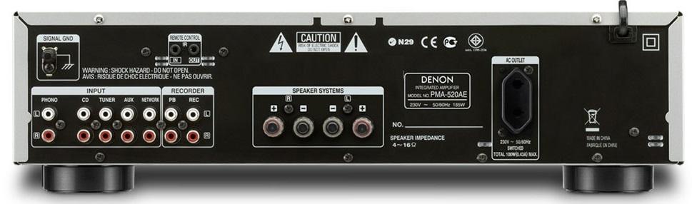 mat sau Ampli Denon PMA-520AE